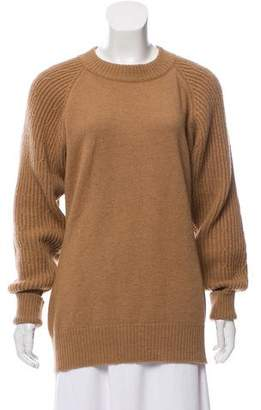 Chanel Camel Long Sleeve Sweater