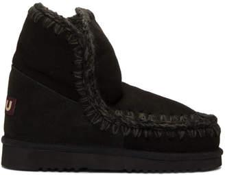 Mou Black Eskimo 18 Boots