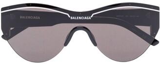 Balenciaga Eyewear Round logo sunglasses
