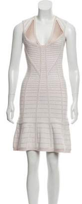 Herve Leger Natalija Bandage Dress w/ Tags champagne Natalija Bandage Dress w/ Tags