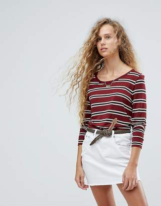 Pepe Jeans Striped Long Sleeved T-Shirt