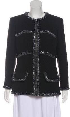 Chanel 2017 Paris-Cosmopolite Tweed Jacket