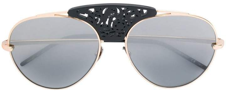 Pomellato embellished bridge sunglasses