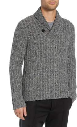 Vince Shawl Collar Sweater