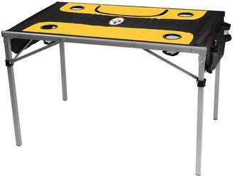 Tailgate Logo Brand Pittsburgh Steelers Total Portable Table