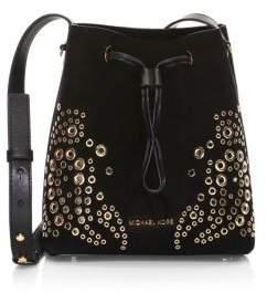 MICHAEL Michael Kors Carysm Grommet Bucket Bag