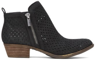 Basel 3 Leather Ankle Bootie $138.95 thestylecure.com