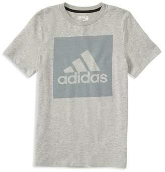 adidas Boys' Logo Graphic Tee - Little Kid