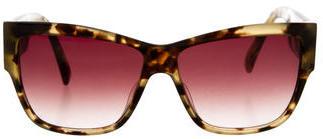 Paul Smith Tortoiseshell Oversize Sunglasses $95 thestylecure.com