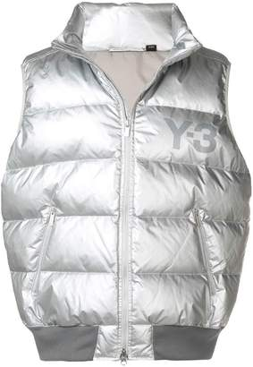 Y-3 padded gilet jacket