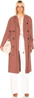 Acne Studios Olicia Coat in Dusty Pink | FWRD