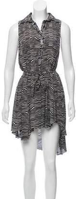 Pierre Balmain Silk Button-Up Dress