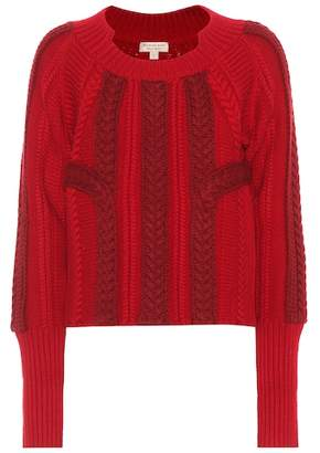 Burberry Burano wool and cashmere sweater
