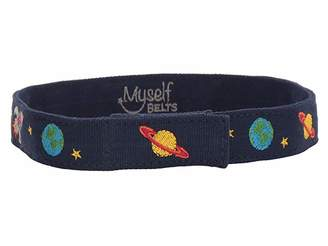 Myself Belts Easy One Handed Belt Outer Space (Toddler/Little Kids/Big Kids)