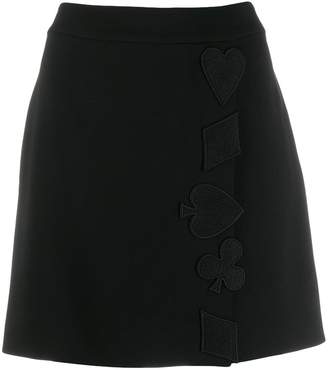 Moschino A-line mini skirt