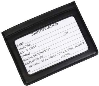 Royce Leather Mini ID & Credit Card Holder