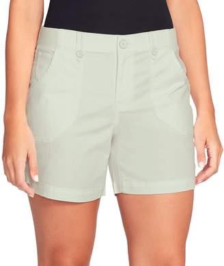 Gloria Vanderbilt Women's Cathy Comfort Waist Cargo Shorts