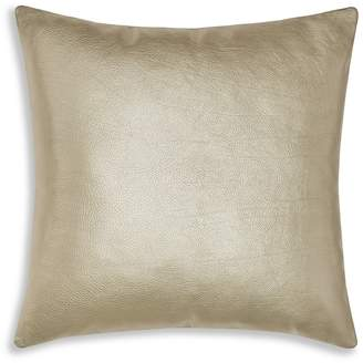Sferra Leather Satta Decorative Pillow, 20 x 20