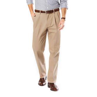 Dockers Signature Stretch Pleated Pants- Big & Tall