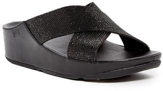 Fitflop Crystal Slide Sandal $125 thestylecure.com