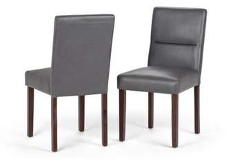 Simpli Home Ashford Parson Dining Chair (Set of 2)