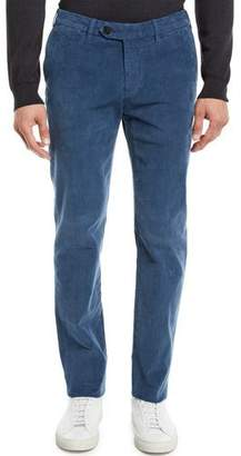 Canali Men's Corduroy Tapered-Leg Pants
