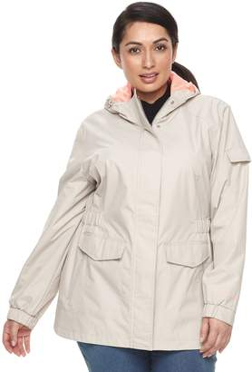 Free Country Plus Size Radiance Lightweight Hooded Jacket