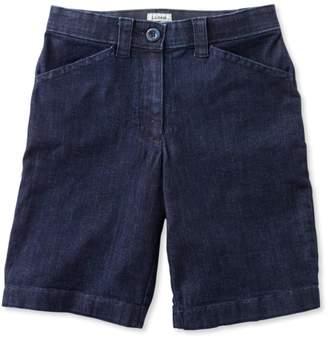 L.L. Bean L.L.Bean Easy-Stretch Shorts, Denim