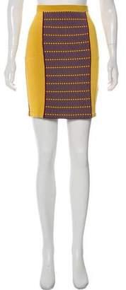 Zac Posen Z Spoke by Knit Mini Skirt