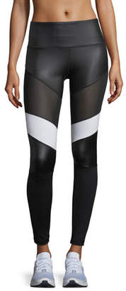 Vimmia Adagio High-Waist Performance Leggings with Mesh