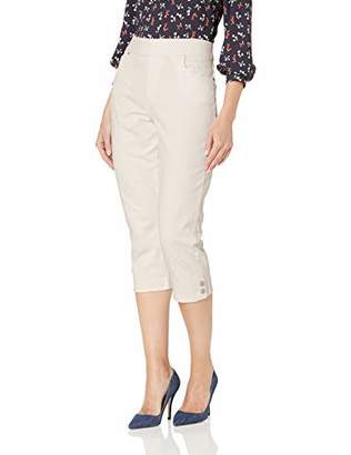 Gloria Vanderbilt Women's Plus Size Avery Pull On Capri