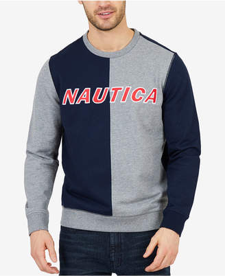 Nautica Men's Colorblocked Logo Sweatshirt