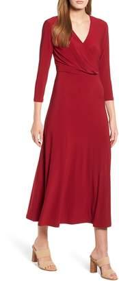 Chaus Midi Wrap Dress
