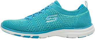 Skechers Womens Galaxies Trainers Blue/Grey