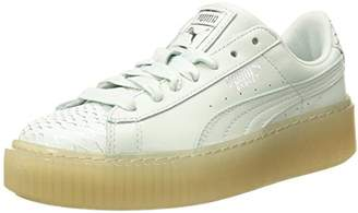 0e55c9d1439 at Amazon.com · Puma Women s Basket Platform Ocean Wn Sneaker