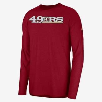 Nike Dri-FIT Player (NFL 49ers) Men's Long Sleeve Top