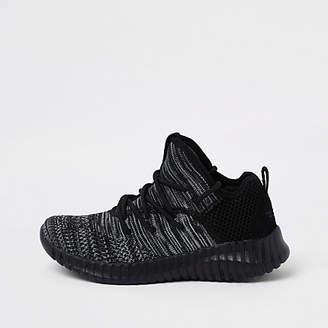 Skechers Boys black mesh runner sneakers