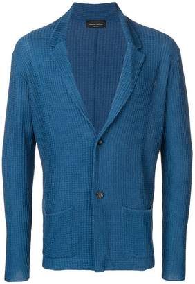 Roberto Collina textured knit blazer cardigan