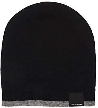 07a6ca71632 Canada Goose Men s Reversible Wool Beanie - Black