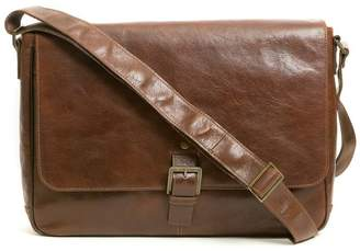 Boconi 'Becker' Leather Messenger Bag
