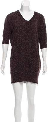 Rebecca Taylor Wool-Blend Sweater Dress
