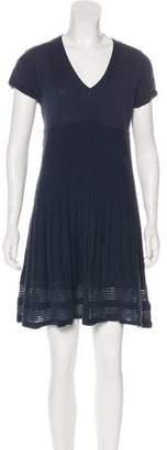 Max Studio Short Sleeve Mini Dress