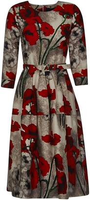 Samantha Sung Floral Belted Dress