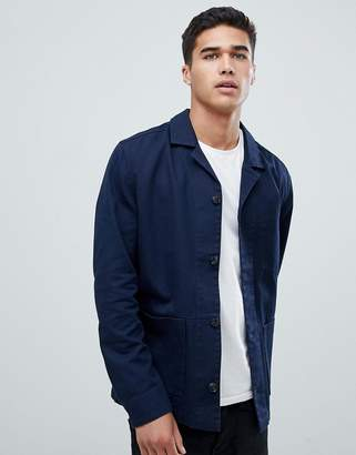 Selected Cotton Twill Jacket