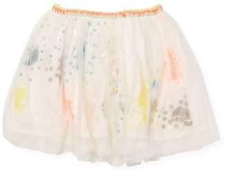 Billieblush Little Girl's & Girl's Sequined Skirt