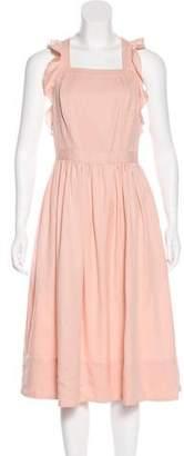 Ulla Johnson Ruffled Sleeveless Dress