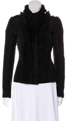 Givenchy Ruffled Casual Jacket