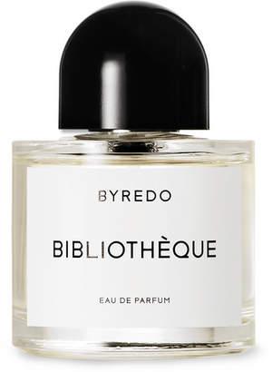 Byredo Bibliothà ̈que Eau de Parfum - Juniper Berries, Orris, Violet, Leather & Patchouli, 50ml