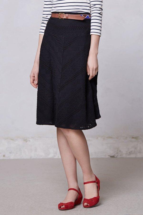 Anthropologie Fatima Midi Skirt