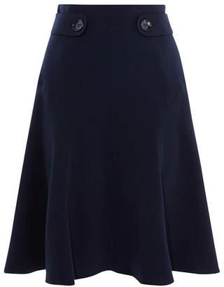 Karen Millen Soft Military Skirt